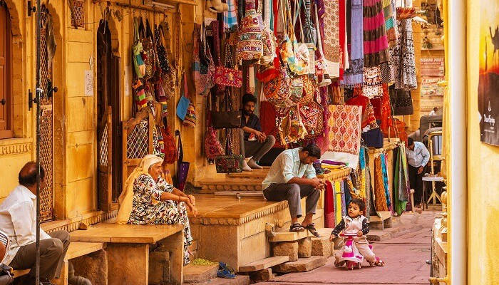 Jaisalmer shopping