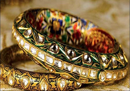 Udaipur - bangle shop